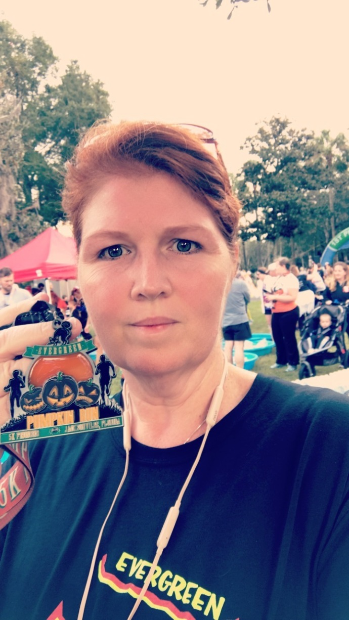 Pumpkin Run Medal